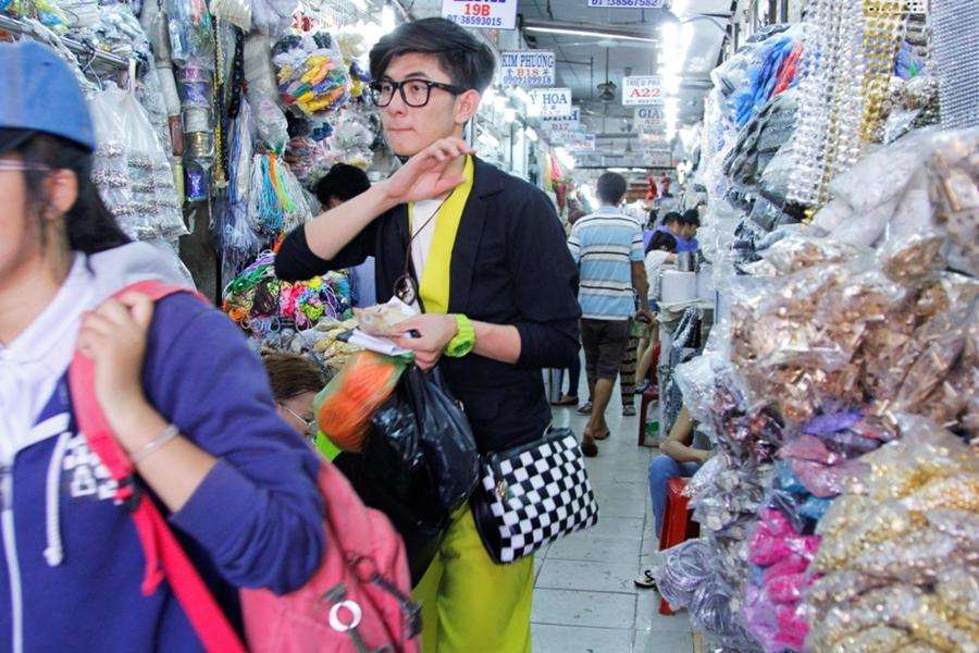 Chợ nguyên liệu handmade Đại Quang Minh