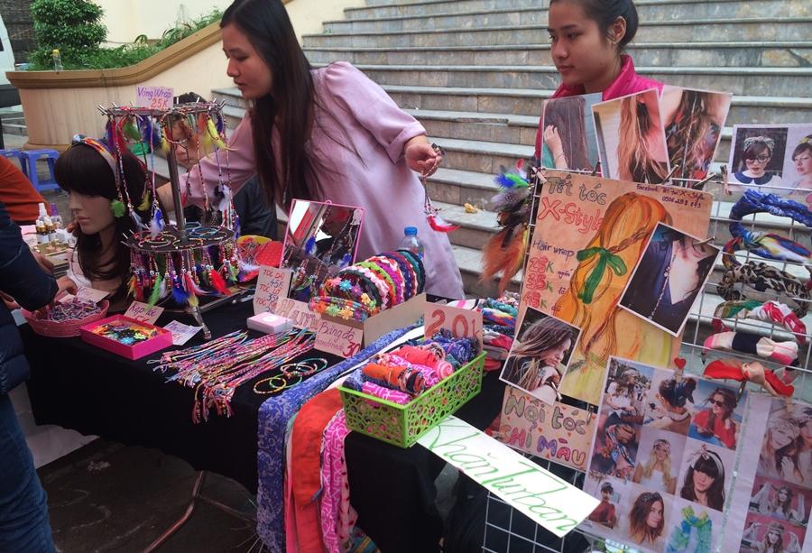 Chợ nguyên liệu handmade tại TPHCM