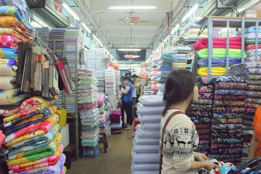 Chợ nguyên liệu handmade nổi tiếng