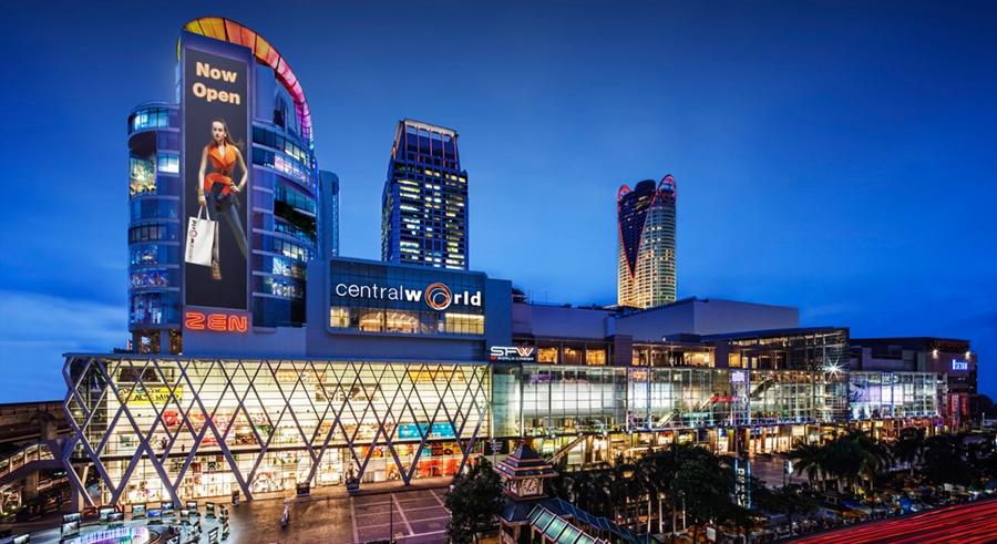 Các chợ và trung tâm thương mại khi đi đánh hàng Thái Lan