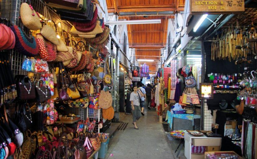 Các khu chợ và trung tâm mua sắm nổi tiếng khi đi đánh hàng Thái Lan