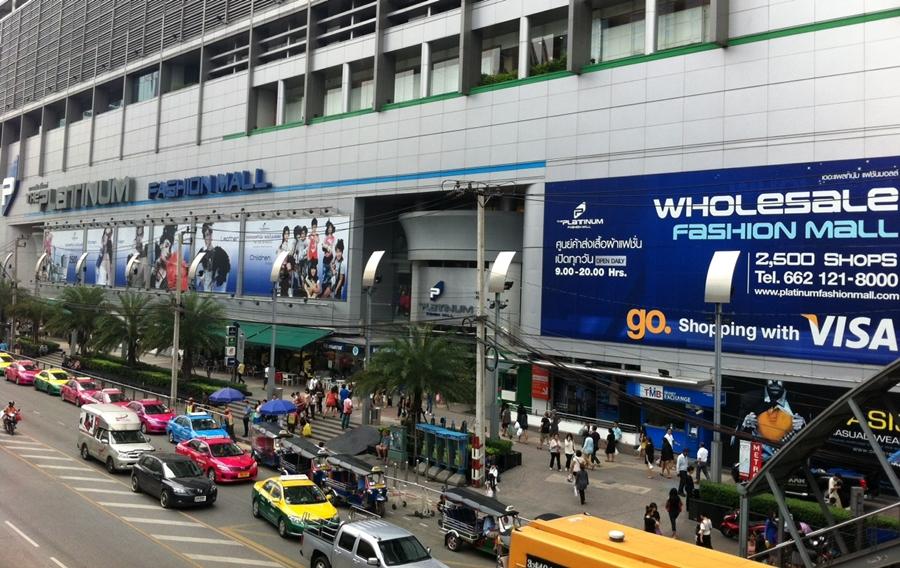 Các chợ và trung tâm mua sắm khi đi đánh hàng tại Thái Lan