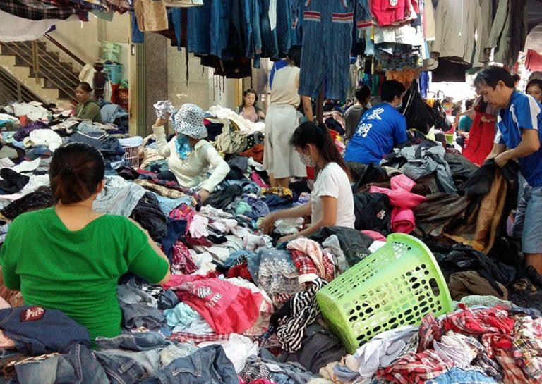 Kinh nghiệm lấy hàng thùng kinh doanh ở chợ hàng thùng Châu Đốc