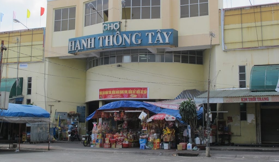 Nguồn hàng quần áo Quảng Châu tại TPHCM chợ Hạnh Thông Tây