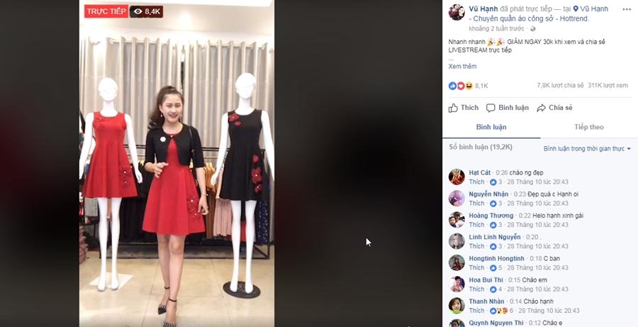 Kinh nghiệm livestream bán hàng trên Facebook
