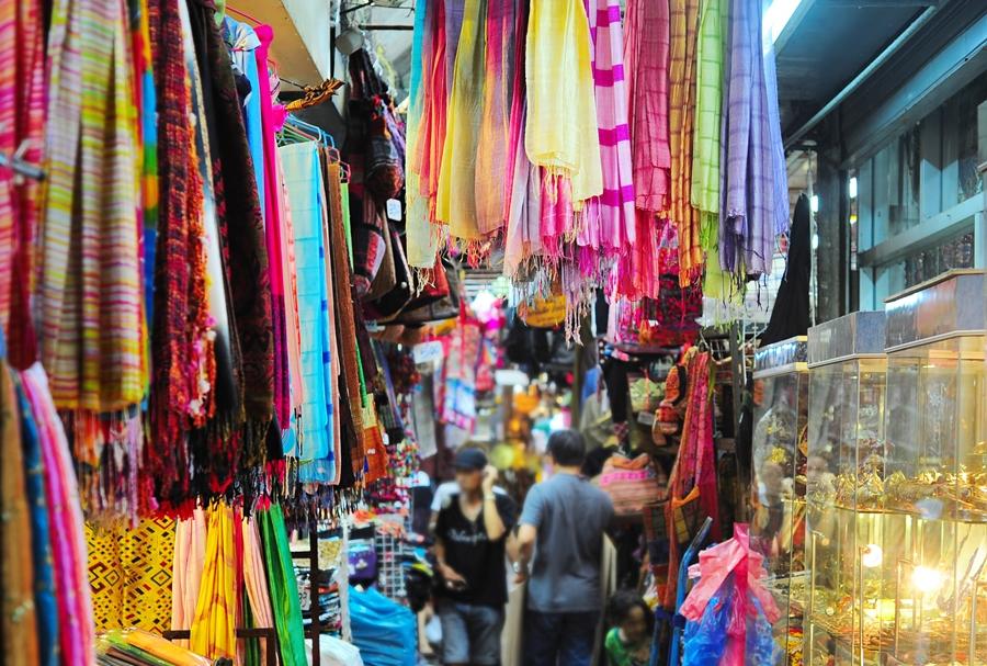 Cách sang Thái Lan lấy hàng quần áo thành công