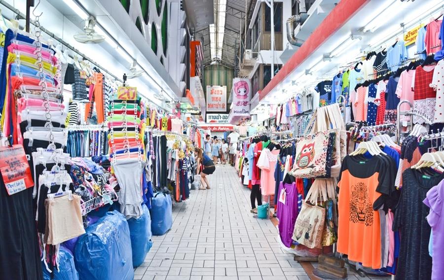 Cách sang Thái Lan lấy hàng quần áo