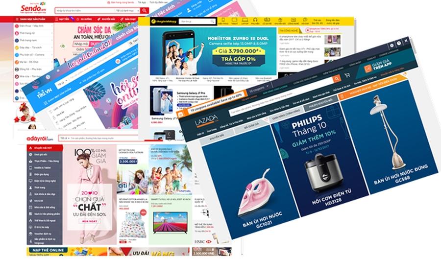 Các kênh bán hàng online cho người mới bắt đầu