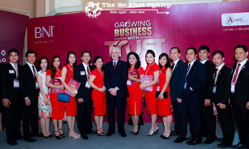 BNI - một trong hội nhóm kinh doanh hiệu quả nhờ tính cam kết của các thành viên