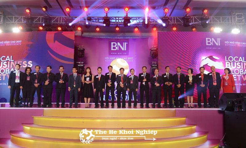 BNI có hệ thống kết nối toàn cầu