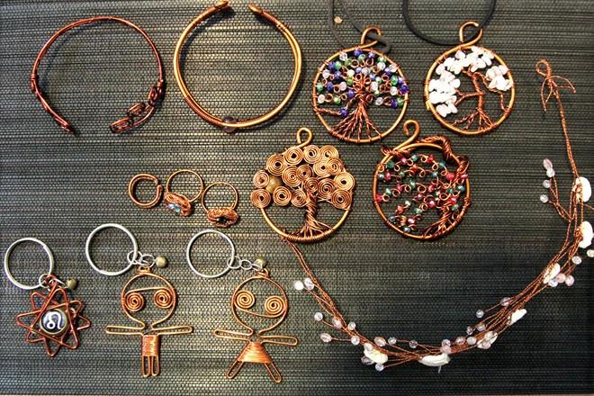 Các món đồ handmade được rất nhiều người yêu thích